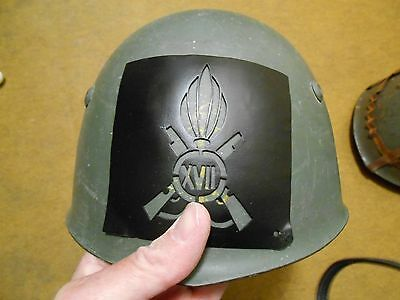 STENCIL FOR HELMET ROYAL INFANTRY AFRIKA ITALY WWII