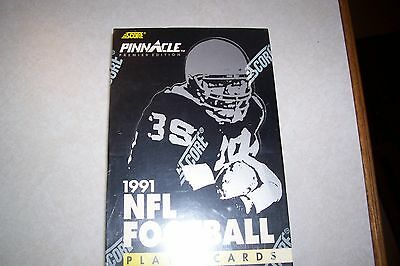 Score Pinnacle 1991 NFL Football Player Cards Major Leagues and Original box