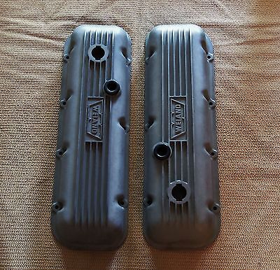 Vintage Weiand valve covers BBC BIG BLOCK CHEVY 396 427 454 aluminum # 7217