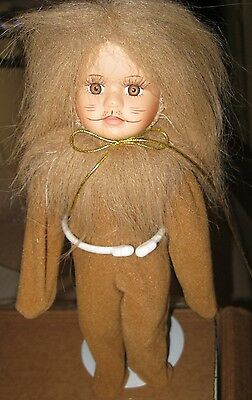 COWARDLY LION Camille Limited Collection Porcelain Doll