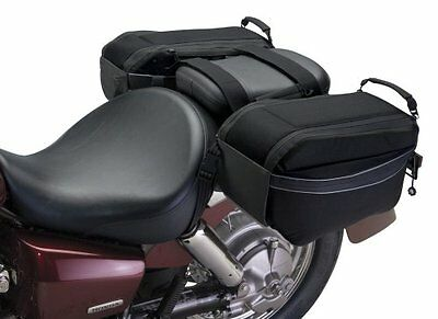Classic Accessories 73707 MotoGear Motorcycle Bike Saddle Bags Cargo Storage NEW