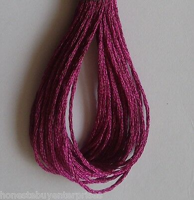 Anchor Metallic Embroidery Thread Floss Skeins #M701 Dark Pink Color