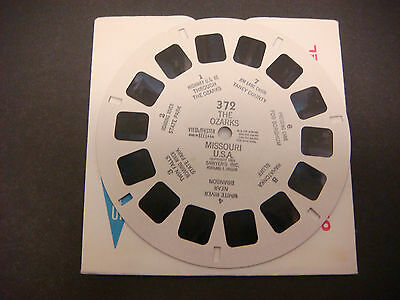 Sawyer's Viewmaster Reel,1951,The Ozark Missouri Taney County Roaring River #351