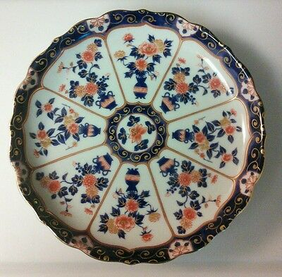 Vintage Japanese Hand Painted  Imari Charger Plate~ signed