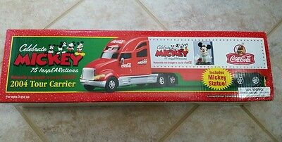 Coca-Cola Mickey 2004 Tour Carrier Special 75th Anniversary Collector's Edition