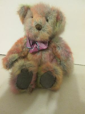 "7"" sitting Russ Festive Gatherings TEDDY BEAR ""MAYBERRY"" plush stuffed"
