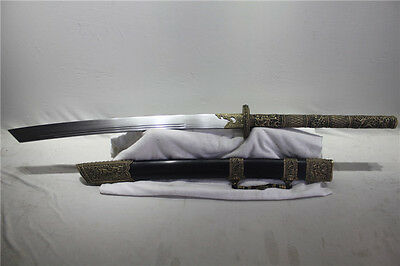 Handmade Exquisite Chinese Podao Large Broadsword Dao Sword Battle Ready