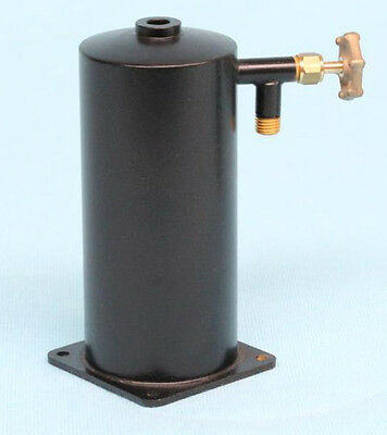 """4272 Vertical Refillable Gas Tank (1-1/2"""" Dia) For Model Marine Installations"""