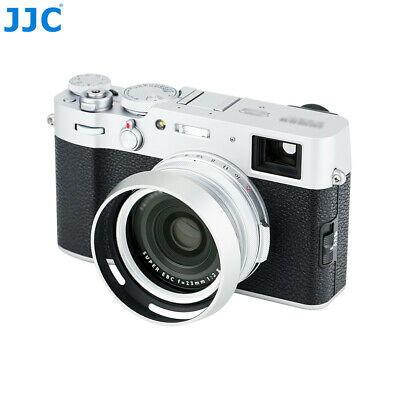 JJC Metal Lens Hood & Adapter Ring for Fujifilm X100S X100T X100F X70 as AR-X100