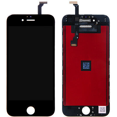Black iPhone 6 LCD Display Screen Touch Digitizer Assembly Replacement 4.7''