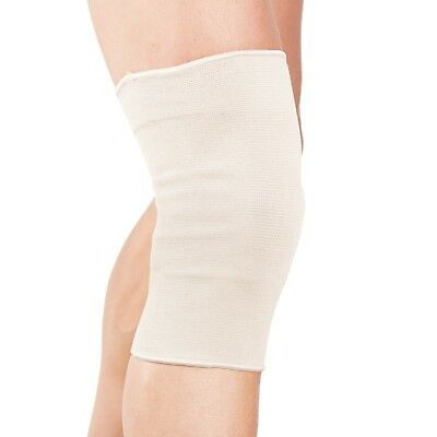 Black Beige White Knee Compression Support Sleeve Elastic Gym Sport Running Pain