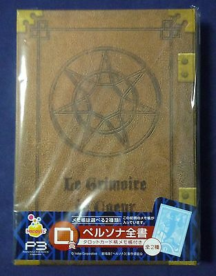 PERSONA 3 THE MOVIE P3 Book Case & Memo pad A type Official NEW!