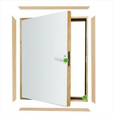 Fakro DWK L-Shaped Combination Doors Attic Loft Door Kit Insulated Fast Delivery