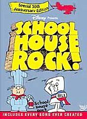 Schoolhouse Rock!: The Ultimate Collector's Edition (DVD, 2002, 2-Disc Set)