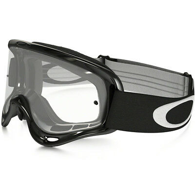 Oakley CHEAP Mx NEW O-frame Dirt Bike BMX MTB Adult Jet Black Motocross Goggles