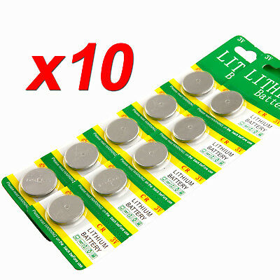 10x CR2032 3V LITHIUM CELL Button BATTERY 5004LC ECR2032 Car Key Toys Batteries