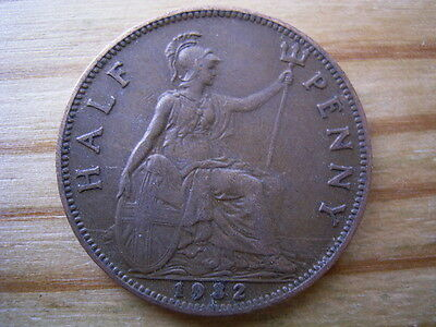1932  georgev   halfpenny collectable