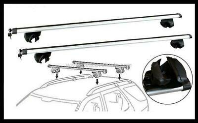 NEW CROSS BAR ROOF RACK Toyota Kluger 08 - 13 with key access