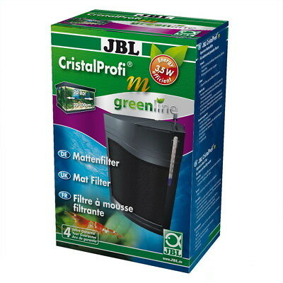 JBL CristalProfi m greenline flacher Aquarium Innenfilter + Mini Thermometer