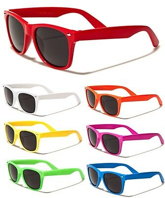 Kids Toddler Boys Girls Multi Colors Classic Retro Wayfarer Sunglasses Shades