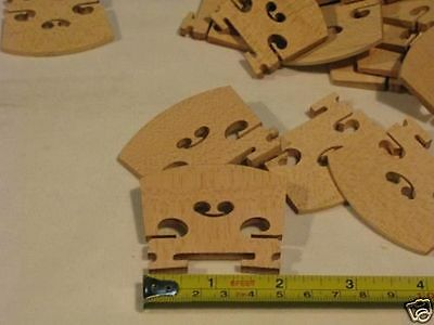 50 pc most solid maple wood Different Viola bridges 46 mm 48 mm 50 mm 52 mm 54mm