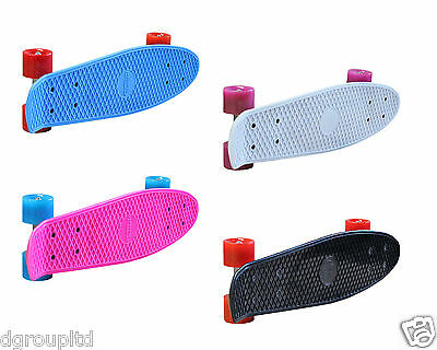 "Retro Cruiser Skateboard Surf Skate 22"" Deck Kids Skating Board"