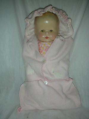 Rare Horsman Baby Buttercup Compo Doll Composition 1931 only Molded Hair
