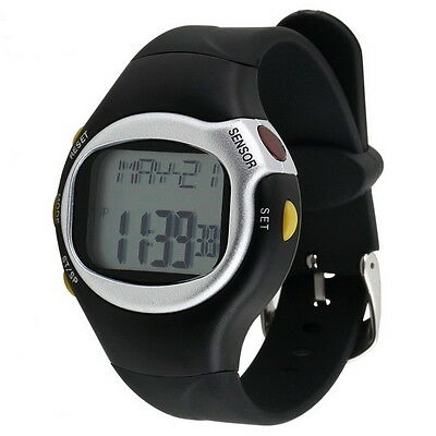 Pulse Heart Rate Monitor Wrist Watch Calories Counter Sports Fitness Exercise SC