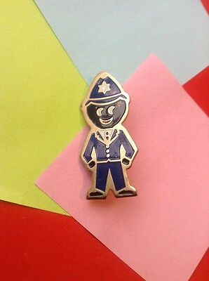 GENUINE ROBERTSONS 1990's GOLLY BADGE POLICEMAN  £2.99 INCLUDES POSTAGE