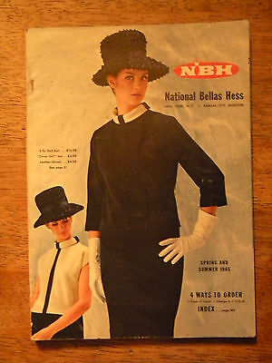 1965 NATIONAL BELLAS HESS CATALOG VINTAGE CLOTHING SHOES BIKES GUNS WATCHES TOOL
