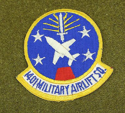 30894) Military Patch USAF 1401st Military Airlift Squadron Air Force Insignia