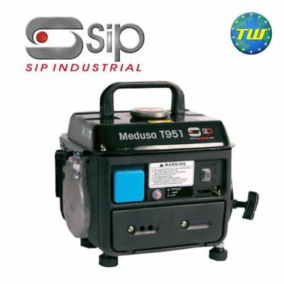 SIP T951 Medusa Compact 2 Stroke Generator 03920 240V For Sites Boats & Caravans