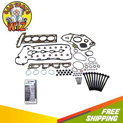 Full Gasket Set & Head Bolts Fits 06-10 Saturn Chevrolet Pontiac 2.4L DOHC 16v