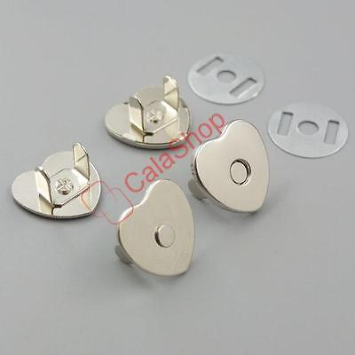"Love Shape Magnetic snaps closures Clasp in Purse Closure Fastener 18MM 3/4"" KK"