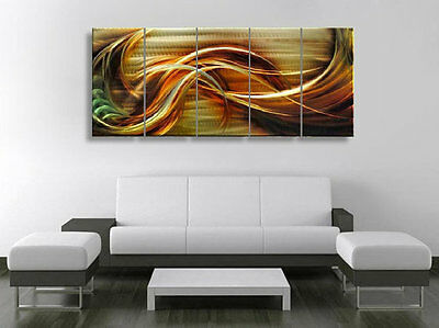 Metal Wall Art Abstract Decor Contemporary  Large Modern Sculpture
