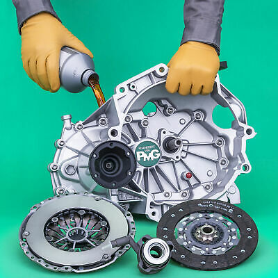 Gearbox + Clutch + Slave Cylinder 1.9 Dci Pk6  1,9 Dti  Master Trafic+ Free Oil