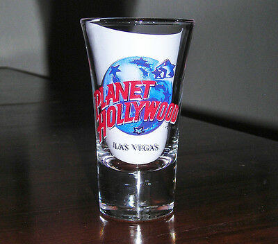 PLANET HOLLYWOOD shot glass LAS VEGAS very nice