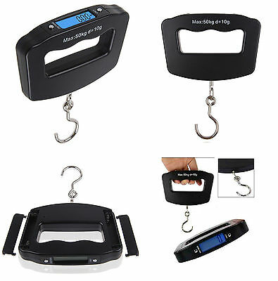 50kg/10g Portable LCD Digital Hanging Luggage Weight Electronic Hook Scale ::S1