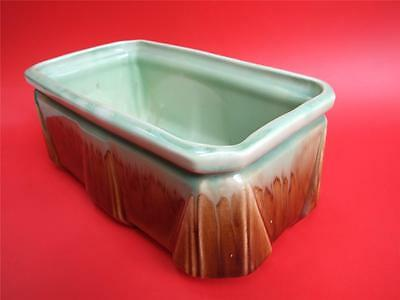 Antique  Art Deco Australian Newtone  Pottery Sydney Trough Vase / Planter1930.s