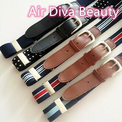 New Boys Kids Children Cool Sports Casual Elastic Adjustable Pants Buckle Belt