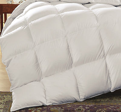 100% Premium Goose Feather and Down Duvet Quilt 10.5 Tog, 13.5 Tog All Bed Sizes