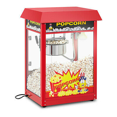 Machine A Popcorn Appareil A Pop Corn Cuiseur Pop-Corn Retro Professionnel Rouge