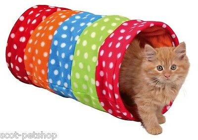 NEUF Polaire Chat Chaton Play Tunnel 50 cm
