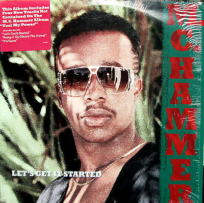 MC Hammer Let's Get It Started 1988 NEAR MINT in shrinkwrap