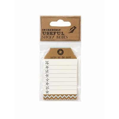 Luggage Tag Shaped Sticky Notes - To Do List!