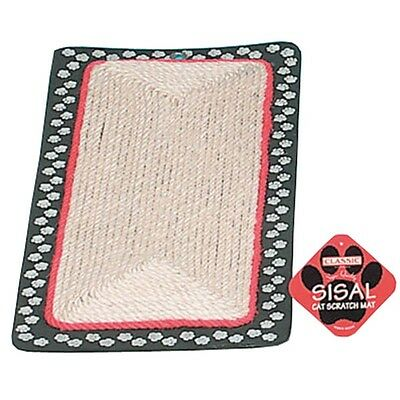 Sisal Chat Gratter Tapis Bord Pour Chats Chatons Who Pince • EUR 12,37