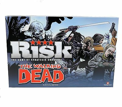 Hasbro RISK THE WALKING DEAD Edition Board Game - Strategy Survival