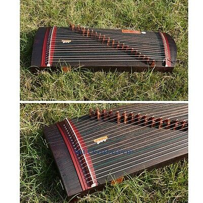 Mini Wood Guzheng Oriental Zither Koto 21 Strings Acoustic Instrument Kids 85cm