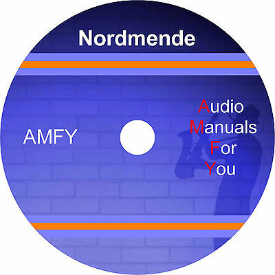 Nordmende service manuals, owners manuals and schematics on 1 dvd, in pdf format