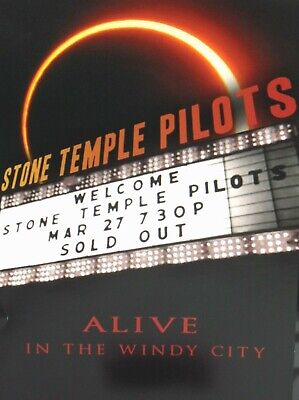 Stone Temple Pilots: Alive in the Windy DVD,NEW! LIVE CONCERT 2010,Scott Weiland